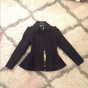 Ted Baker peplum coat